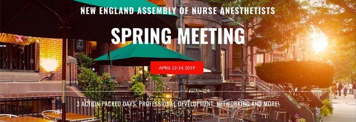 NEANA Spring meeting