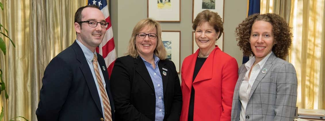 New Hampshire Association of Nurse Anesthetists w/ Jean Shaheen